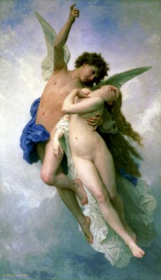 Bouguereau William Adolphe - Amor i Psyche - reprodukcja