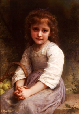 William Adolphe Bouguereau – Jabłka – reprodukcja