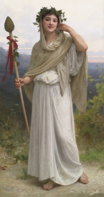 William Adolphe Bouguereau – Kapłanka Bachusa – reprodukcja