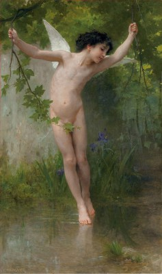William Adolphe Bouguereau – Kupidyn nad wodą – reprodukcja