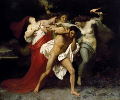 William Bouguereau - obraz olejny - Orestes