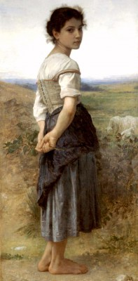 William Adolphe Bouguereau – Pasterka – reprodukcja