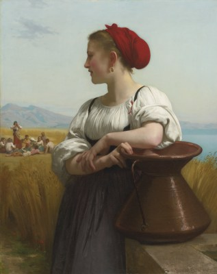 William Adolphe Bouguereau – Żniwiarka – reprodukcja
