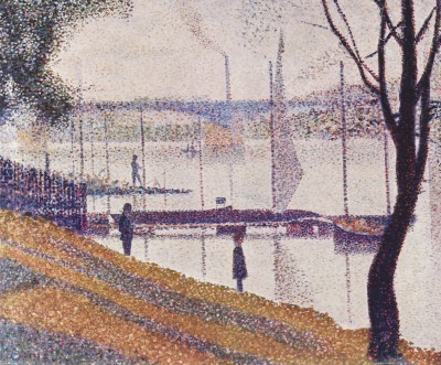Seurat, Most w Courbevoie